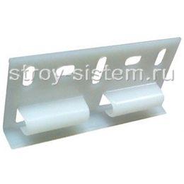 Стартовый элемент Grand Line для фасадной панели белый 0,08х0,033 м
