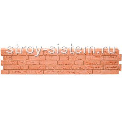 Фасадная панель Grand Line GL Я-фасад Демидовский кирпич красный