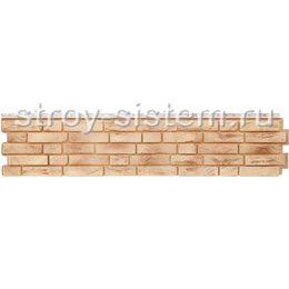Фасадная панель Grand Line GL Я-фасад Демидовский кирпич песок