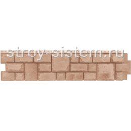 Фасадная панель Grand Line GL Я-фасад Екатерининский камень янтарь