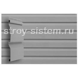 Виниловый сайдинг Grand Line Корабельная доска (slim) D4 Amerika серый