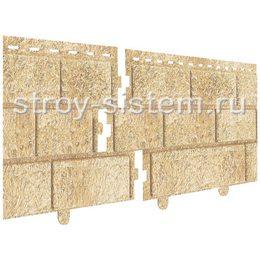 Фасадные панели Stone House кирпич песочный 3025х230 мм