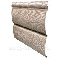 Виниловый сайдинг Тимберблок ясень беленый 3400x230 мм