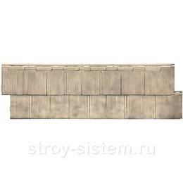 Фасадная панель Т-Сайдинг Щепа Пихта Эко-2 Сосна