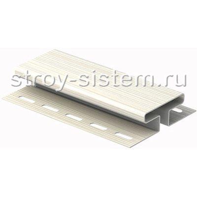 H-планка Ю-пласт белый 3050 мм