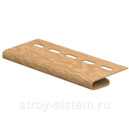 Планка завершающая Timberblock кедр янтарный 3050 мм