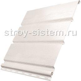 Софит Ю-пласт без перфорации белый 3000x300 мм