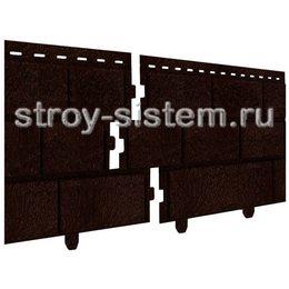 Фасадные панели Stone House кирпич коричневый 3025х230 мм
