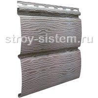 Виниловый сайдинг Тимберблок дуб серебристый 3400x230 мм