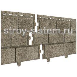 Фасадные панели Stone House кирпич бежевый 3025х230 мм