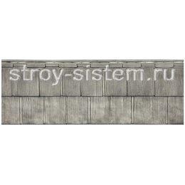 Фасадная панель Т-Сайдинг Щепа Пихта Эко-2 Самшит