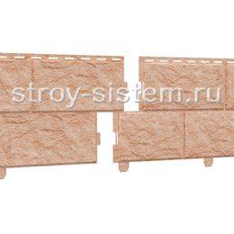 Фасадные панели Stone House камень золотистый 3025х225 мм