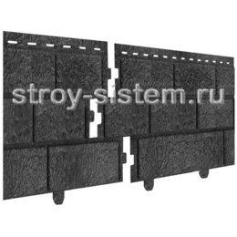 Фасадные панели Stone House кирпич графитовый 3025х230 мм