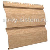 Виниловый сайдинг Timberblock кедр янтарный 3050x230 мм