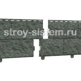 Фасадные панели Stone House камень изумрудный 3025х225 мм