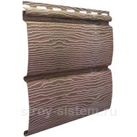 Виниловый сайдинг Тимберблок дуб натуральный 3400x230 мм