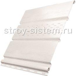 Софит Ю-пласт с частичной перфорацией белый 3000x300 мм