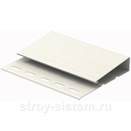 Наличник j-планка широкая Ю-пласт белый 3050 мм