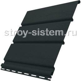 Софит Ю-пласт без перфорации графитовый 3000x300 мм