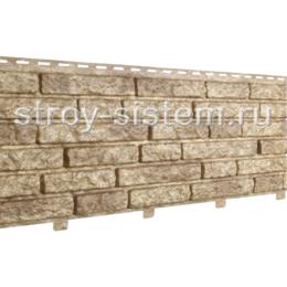 Фасадные панели Stone House Кварцит темно-бежевый 2000х250 мм