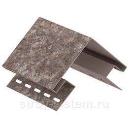 Угол наружный Stone House кварцит коричневый 3050 мм