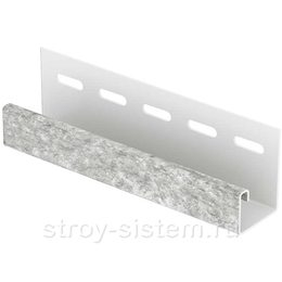 J-планка Stone House кварцит светло-серый 3050 мм