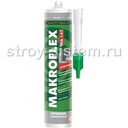 Герметик силикатный Makroflex НА147 огнеупорный, черный 0,3 л