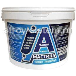 Мастика универсальная клеящая жаростойкая Альмира 4 кг