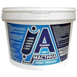 Мастика универсальная клеящая жаростойкая Альмира 1,5 кг