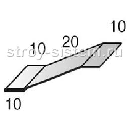 Планка начальная сайдинга RAL 9006