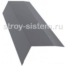 Планка карнизная RAL 7004 100х65 мм