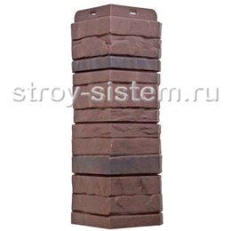 Угол наружный Docke Stein Камень Темный орех 425 мм