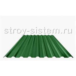 Профнастил С21 RAL 6029 мятно-зеленый 0,45 мм