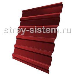Профнастил С21 RAL 3011 красно-коричневый 0,45 мм