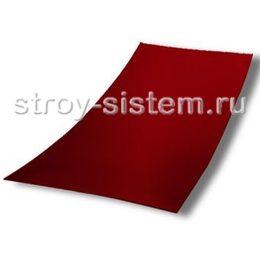 Плоский лист с полимерным покрытием 0,35 мм RAL 3005 винно-красный