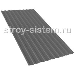 Профнастил С21 RAL 7024 графитово-серый 0,45 мм