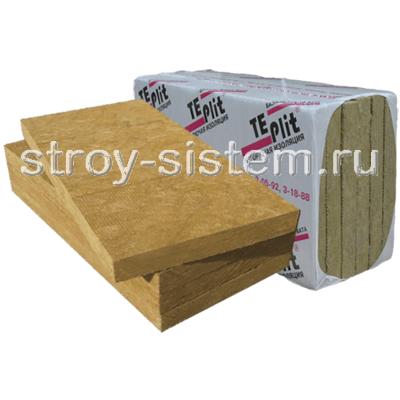 Базальтовая теплоизоляция Теплит Блок Стандарт 1000x500x50 в упаковке 6 шт.