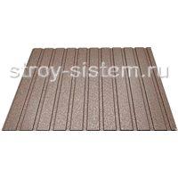 Профнастил С8 матовый RAL 8017 Шоколадно-коричневый 0,45 мм