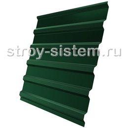 Профнастил С21 RAL 6005 зеленый 0,45 мм