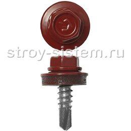 Саморез кровельный RAL-3003 ZP 5,5х19 250 шт