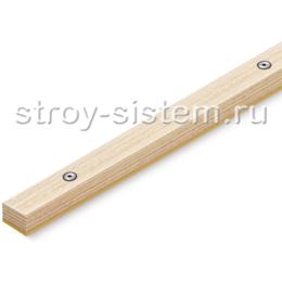 Деревянная рейка виброизолирующая