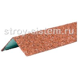 Уголок внешний металлический Технониколь Hauberk Красный 1250х50х50 мм