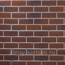 Плитка фасадная Технониколь Hauberk Баварский кирпич 1000х250х3,0 мм