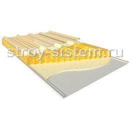 Кровельные сэндвич-панели с базальтовым наполнителем 250 мм RAL 1014/RAL 9002
