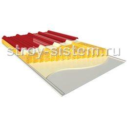 Кровельные сэндвич-панели с базальтовым наполнителем 250 мм RAL 3011/RAL 9002