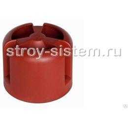 Кровельный колпак Krovent HupCap RAL 3009 Оксид красный