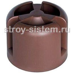 Кровельный колпак Krovent HupCap RAL 8017 Шоколадно-коричневый