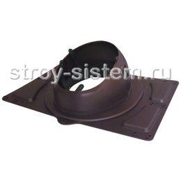 Проходной элемент Krovent Base-VT General 125/150 RAL 8017 Шоколадно-коричневый