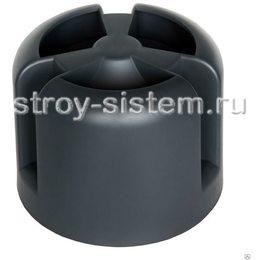 Кровельный колпак Krovent HupCap RAL 9005 Чёрный янтарь