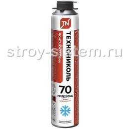 Пена монтажная профессиональная Технониколь 70 Professional зимняя 890 мл